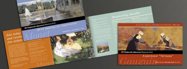 Wadsworth Atheneum Direct Mail Solicitation
